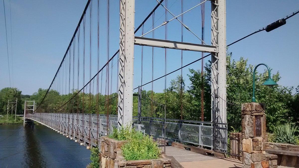 Ripley oklahoma swinging bridge