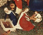 Upper Rhenish Master - The Garden of Eden (detail) - WGA23767.jpg