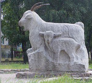 Uryupinsk - A monument in Uryupinsk