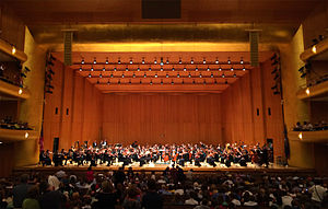 Utah Symphony - The Utah Symphony at Abravanel Hall in Salt Lake City