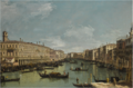 VENICE, A VIEW OF THE GRAND CANAL LOOKING NORTH FROM NEAR THE RIALTO BRIDGE, WITH THE FABBRICHE NUOVE ON THE LEFT.PNG