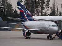 VP-BET - A320 - Aeroflot
