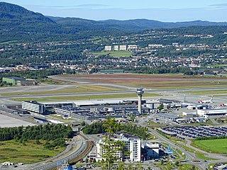 Trondheim Airport, Værnes International airport serving Trondheim, Norway