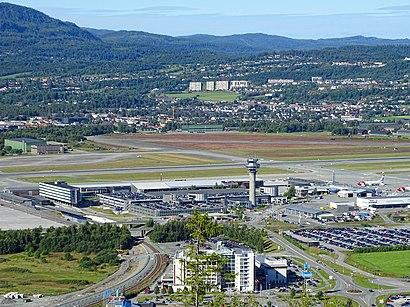 Hvordan komme seg til Trondheim Lufthavn med offentlig transport - Om stedet