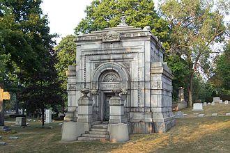 Forest Home Cemetery - Valentin Blatz mausoleum