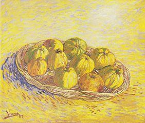 Still Life, Basket of Apples