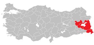 Van Subregion Subregion in Central East Anatolia, Turkey
