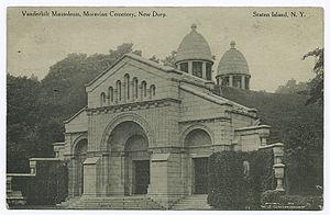 Moravian Cemetery - Mausoleum of the Vanderbilt family