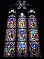 Vannes - cathédrale, vitrail de saint Louis.JPG