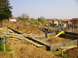 Land development - Building construction
