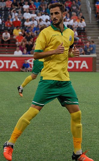Vassilios Apostolopoulos - Apostolopoulos playing with the Rochester Rhinos in 2016