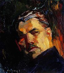VASZARY, Janos (1867—1938) Self-Portrait