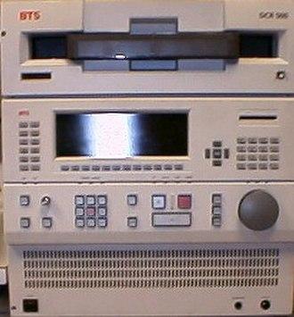 D-1 (Sony) - BTS D1 VTR DCR500