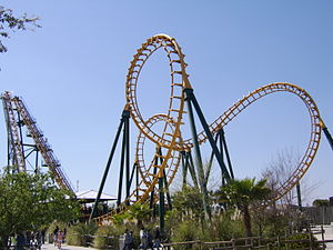 Roller coaster inversion - ''Boomerang'' has been cloned over 50 times.