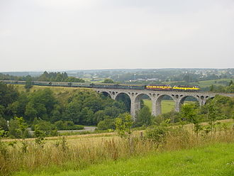 Bütgenbach - Bridge on the Vennbahn outside Bütgenbach