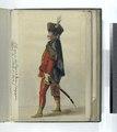 Vereenigde Provincien der Nederlanden.) Officier van het Regiment Hissaren Frangep (-) (...). 1748 (NYPL b14896507-91916).tiff