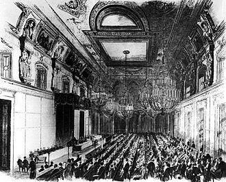 Meno Burg - Zweiter Vereinigter Landtag (Second Prussian Parliament) in 1848
