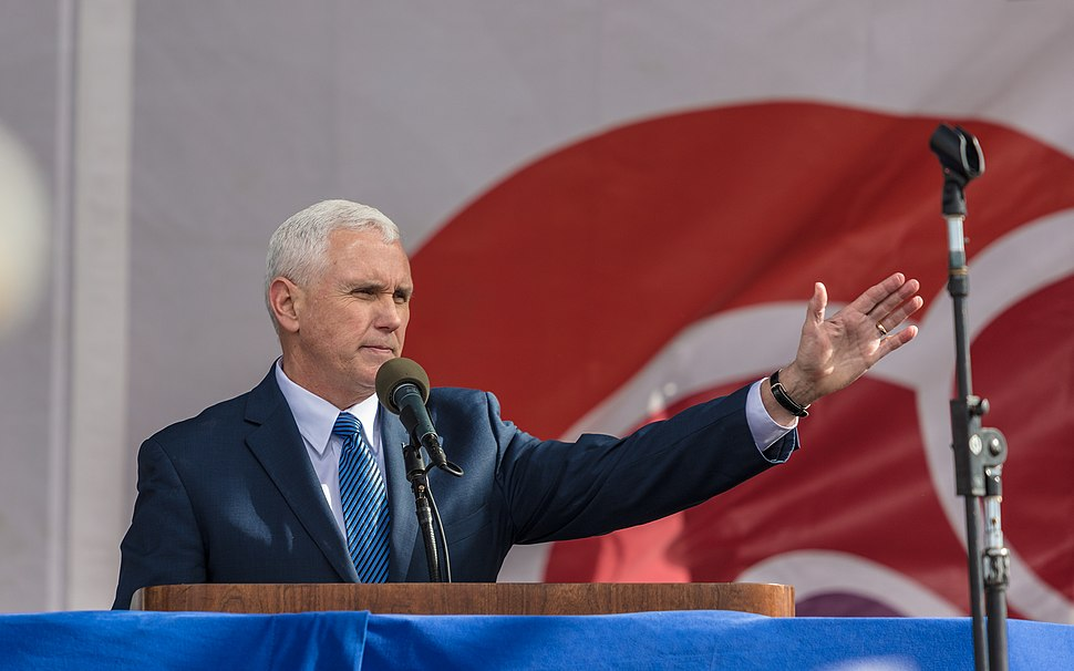 Vice President Mike Pence addressing the March for Life (31864759963)