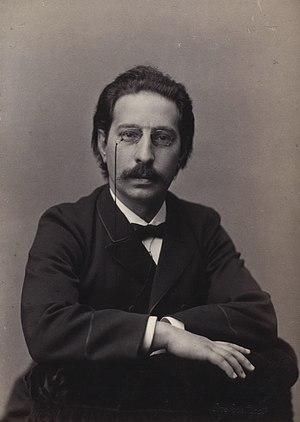 English: Victor Emanuel Bendix (1851-1926), Da...