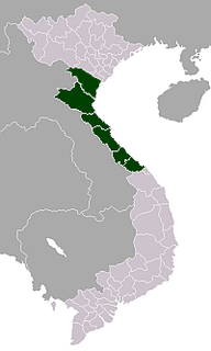 North Central Coast region of Vietnam