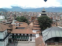 View From 9 Storied Building At Patan Durbar Square.jpg