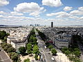 View from Arc de Triomphe 63 2012-07-02.jpg