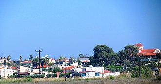 Akrotiri (village) - Image: View of Akrotiri (village) 03