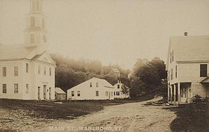 Marlboro, Vermont - The Town Common in 1908