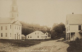 Marlboro, Vermont - The Town Common in 1908