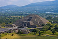 View of Pyramid of the Moon from Pyramid of the Sun, Teotihuacan.jpg