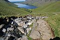 View of Wastwater from above Lingmell Gill - geograph.org.uk - 1329509.jpg