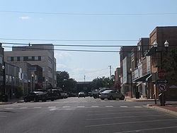 View of downtown Lufkin