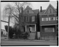 View south, north front of 174 Zane Street - 174 Zane Street (House), Wheeling, Ohio County, WV HABS WVA,35-WHEEL,46-5.tif