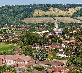 Dorking Market town in Surrey, England