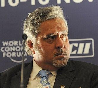 Vijay Mallya - Mallya in 2008