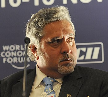 English: Vijay Mallya, Chairman, UB Group, Ind...