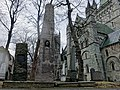 Vilhelm Andreas WEXELSEN 1849–1909 Bauta Monuments Gravminner gravestones Nidarosdomen Wilhelm Andreas W. 1886-1912 Ingrid W. 1877-1946 Vidar W. 1890-1947 Fredrik W. 1818-96 Inger Desideria W. 1823-81 Trondheim Norway 2019-03-20 096.jpg