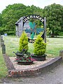 Village sign, Oakhanger - geograph.org.uk - 1344102.jpg