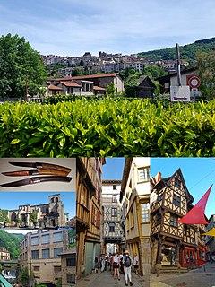 Thiers, Puy-de-Dôme Subprefecture and commune in Auvergne-Rhône-Alpes, France
