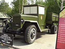 Vintage military truck of Russia.jpg