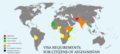 Visa requirements for Afghan citizens.png