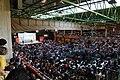 Vista del Pabellón de la Feria de Albacete durante un mitin del presidente del Gobierno Pedro Sánchez.jpg