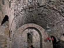 Volta della cripta di San Fantino