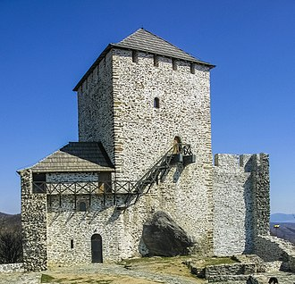 Vršac Castle - Vršac Tower after second stage of reconstruction