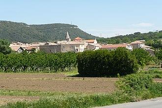 Chusclan - A general view of Chusclan