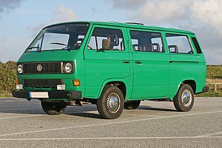 third generation of the Volkswagen Transporter