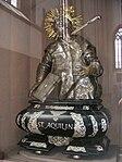 Würzburg - Marienkapelle, Silberbüste des Hl. Aquilin.JPG