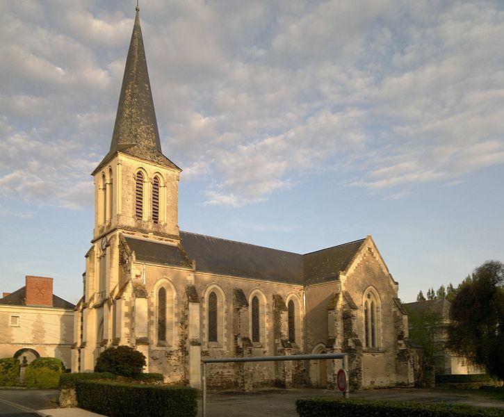Église Saint-Jean, Fr-49-Saint-Jean-de-la-Croix.