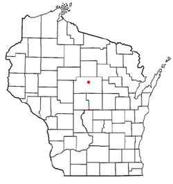 Location of Stettin, Wisconsin