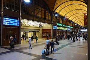 Wrocław Główny railway station - Main Hall of the station